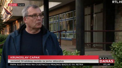 Photo of VIDEO Capak najavio istraživanje o koronavirusu na cjelokupnoj populaciji