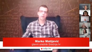 Photo of Marko Matijević: Treba što prije donijeti odluku kada će se održati državna matura, učenici moraju biti informirani o svemu