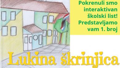 """Photo of Osnovna škola Luke Perkovića iz Brinja pokrenula školski list """"Lukina škrinjica"""""""