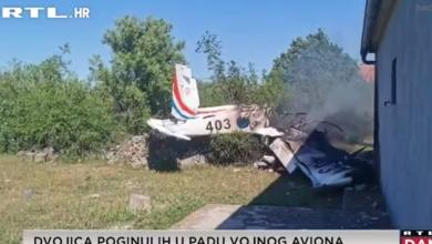 """Photo of VIDEO Svjedok nesreće za RTL: """"Odjednom je nestalo zvuka aviona, a onda se čuo udarac o zemlju i eksplozija"""""""
