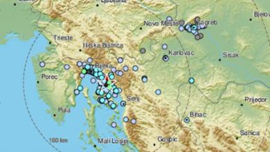 Photo of Potres jačine 3,9 po Richteru zatresao riječko područje