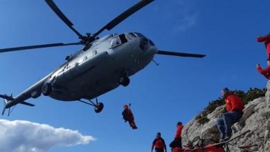 Photo of SPAŠAVANJE NA VELEBITU Teško ozlijeđena planinarka helikopterom prebačena u zadarsku bolnicu