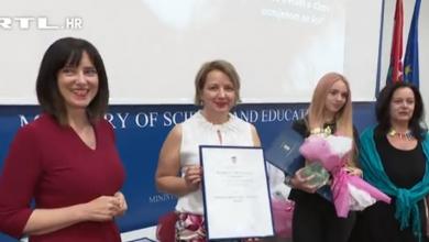 Photo of VIDEO Dorotea Horvat i Luka Prce dobitnici nagrade za promicanje tolerancije i škole bez nasilja
