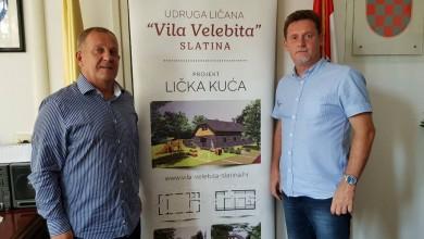 """Photo of VILA VELEBITA Udruga Ličana u Slatini gradi """"Ličku kuću""""!"""