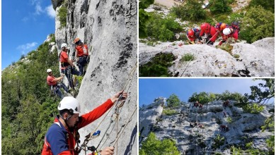 Photo of FOTO Gospićki spašavatelji odradili stijensku vježbu spašavanja