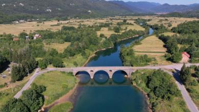 Photo of MALO DRUGAČIJI POGLED Kosinjski most na spektakularnoj panoramskoj fotografiji!