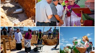 Photo of FOTO U Gospiću blagoslovljeni temelji budućeg samostana sestara iz reda Karmelićanki