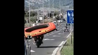 Photo of VIDEO Ovo se ne viđa često: Pogledajte što su prevozila ova dvojica na skuteru!