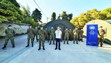 Photo of Hrvatska vojska postavila šatore Alaska ispred Opće bolnice Zadar