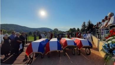 Photo of Održan obred ukopa 15 civilnih žrtava ekshumiranih na lokaciji Tupale-Sinac