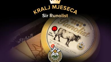 Photo of NOVI KRALJ MJESECA Zbog velikog interesa ponovno je to – sir Runolist!