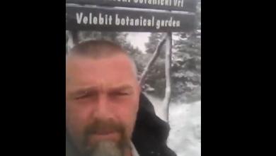 Photo of VIDEO Snijeg na Velebitu! Ove godine rano, već 26. rujna