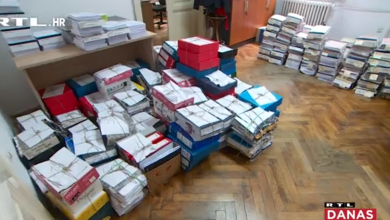 """Photo of VIDEO RTL-ova kamera snimila 80.000 stranica velik spis u aferi Agrokor: """"Suđenja neće biti još dvije-tri godine"""""""