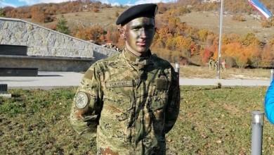 """Photo of Patrik Vlahinić: """"Od malih nogu sanjam biti dio Hrvatskih oružanih snaga"""""""