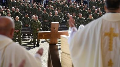 Photo of FOTO Hrvatska vojska na tradicionalnom hodočašću u Mariji Bistrici
