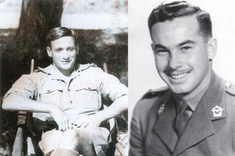 F/Lt.Alan Russell Vance (lijevo) i Lt. Alexander Morris Medalie (desno), Izvor: Privatna kolekcija