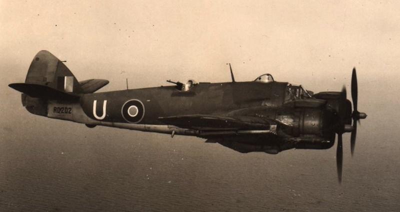 Jedan od Bristol Beaufightera Mk X iz sastava 19. eskadrile SAAF-a