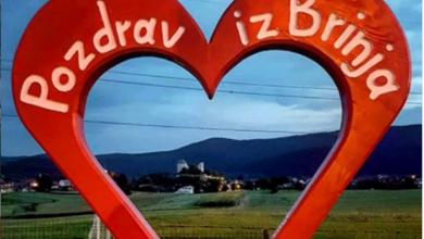 Photo of NASTAVAK PROJEKTA U Brinju postavljeno još jedno srce!