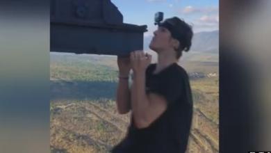 Photo of VIDEO HEP i jedan od najiskusnijih penjača iz Istre o Britancu koji je visio s 340 metara visokog dimnjaka termoelektrane u Plominu