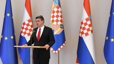 """Photo of Predsjednik Milanović: """"Državne institucije treba štititi na odgovarajući način"""""""