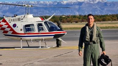 Photo of FOTO U Zemuniku počela letačka obuka na helikopterima Bell-206B