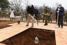 Photo of FOTO Položen kamen temeljac vojne ambulante na poligonu na Slunju