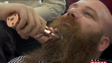 Photo of VIDEO Muškarci puštali bradu tijekom studenog, pa odredili cijenu za koju su je spremni obrijati