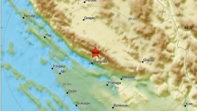 Photo of POTRES U LICI I DALMACIJI! Magnitude 4.9 po Richteru osjetio se u Gospiću, Otočcu, Novalji i Gračacu
