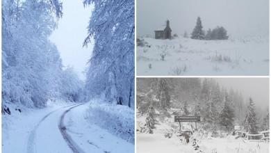 Photo of SNJEŽNA IDILA Na Zavižanu palo 23 centimetra snijega
