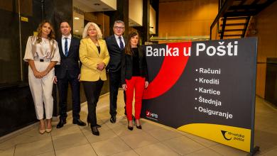 Photo of Hrvatska pošta i Hrvatska poštanska banka jačaju stratešku suradnju