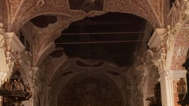 Photo of Urušio se svod crkve sv. Katarine i teško oštećena crkva sv. Marka na Gornjem gradu