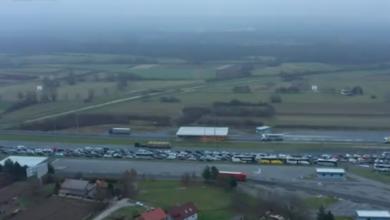 Photo of VIDEO Pogledajte iz zraka ogromne gužve na hrvatskim granicama: Čeka se satima, gužve i na Bregani i na Bajakovu