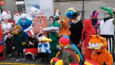 """Photo of VIDEO  Pjesmom za Božić razveselili pacijente i medicinsko osoblje zagrebačkih bolnica: """"Ovo nije neka bizarna banda iz Ratnika podzemlja…"""""""