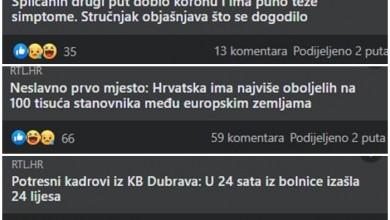 """Photo of Zašto se Hrvati """"smiju"""" na vijesti o preminulima od Covida-19?"""