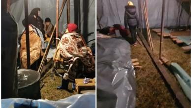 """Photo of Apel iz okolice Petrinje: """"Žene i djeca spavaju na livadi, nitko ne brine za njih"""""""