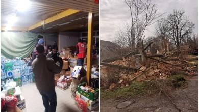 """Photo of BRINJACI VELIKOG SRCA Ante i Dražen obišli potresom pogođena sela: """"Mještani zahvaljuju na pomoći!"""""""