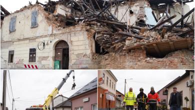 Photo of FOTO IZ PETRINJE Lički fotograf Pavelić zabilježio potresne prizore iz centra grada