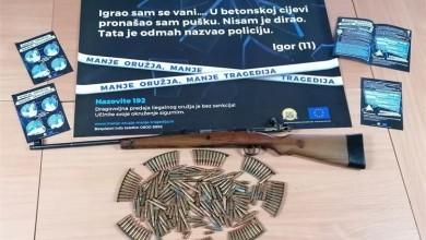 Photo of BEZ SANKCIJA U Korenici dragovoljno predana puška i razno streljivo