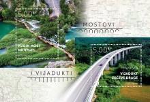 Photo of Romantični Kudin most i impresivni vijadukt Zečeve Drage na poštanskim markama