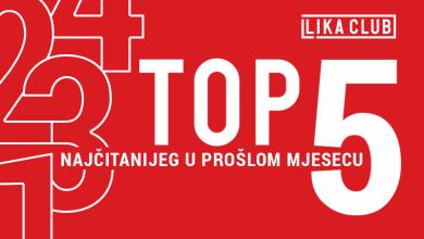 Photo of TOP 5 Što se najviše čitalo u prosincu? Doris Pinčić posjetila Liku, naše putovanje s propusnicama, Edi Gomerčić…