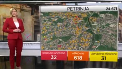Photo of VIDEO Snimke razornog potresa: Na Banovini kao da se urušio grad veličine Senja