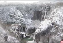 Photo of VIDEO  Plitvice su trenutno najhladnije područje Hrvatske: Pogledajte kako izgleda prava snježna bajka!