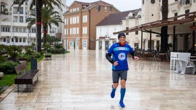 Photo of Završeno 7 maratona u 7 dana, impresivan pothvat od Splita do Tivta