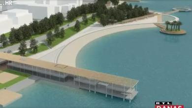 Photo of VIDEO Zadarska plaža Kolovare dobiva novo ruho: Uredit će se šetnica i dodati zelene površine