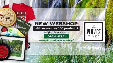 Photo of THE PLITVICE TIMES Novi originalni turistički webshop! Pogledajte što se sve može naći u njemu