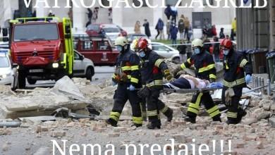 Photo of Godišnjica potresa u Zagrebu: Vatrogasci – glavna snaga sustava civilne zaštite