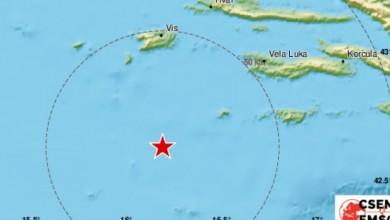 Photo of Tri nova potresa u Jadranu, jedan čak magnitude 4,5 po Richteru