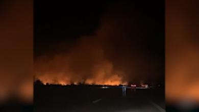 Photo of VIDEO Pogledajte snimke sinoćnjeg požara uz A1 kod Gospića