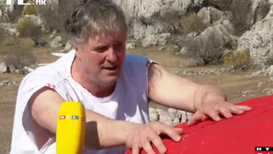Photo of VIDEO Poput Sizifa: Zadarski performer i kandidat za gradonačelnika krenuo je u kampanju s alter egom