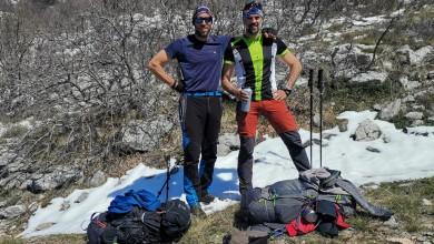 Photo of 1100 KILOMETARA ZA 1100 TERAPIJA Na petoj etapi osvojen najviši vrh Velebita!